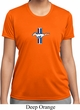 Ladies Ford Shirt Legend Lives Crest Small Print Moisture Wicking Tee