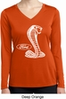 Ladies Ford Shirt Mustang Cobra Dry Wicking Long Sleeve Shirt