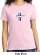 Ladies Ford Shirt The Legend Lives Crest Small Print Tee T-Shirt