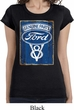 Ladies Ford Shirt V8 Genuine Ford Parts Longer Length Tee T-Shirt