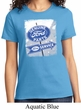 Ladies Ford Shirt Vintage Sign Genuine Ford Parts Tee T-Shirt