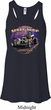 Ladies Frankenstein Frankie's Speed Shop Flowy V-neck Tank Top