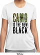 Ladies Funny Shirt Camo is the New Black Moisture Wicking Tee T-Shirt