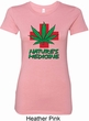 Ladies Funny Shirt Natures Medicine Longer Length Tee T-Shirt
