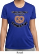 Ladies Funny Shirt Thirsty Pretzels Moisture Wicking Tee T-Shirt