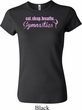 Ladies Gymnast Shirt Eat Sleep Breathe Gymnastics Crewneck Tee T-Shirt