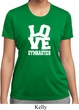 Ladies Gymnastics Shirt Love Gymnastics Moisture Wicking Tee T-Shirt