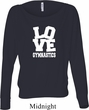 Ladies Gymnastics Shirt Love Gymnastics Off Shoulder Tee T-Shirt