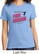 Ladies Gymnastics Shirt Pretty in Pink Dangerous in a Leo Tee T-Shirt
