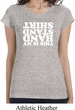 Ladies Gymnastics Shirt This is My Handstand Shirt Longer Length Tee