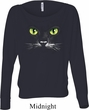Ladies Halloween Shirt Black Cat Off Shoulder Tee T-Shirt