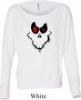 Ladies Halloween Shirt Ghost Face Off Shoulder Tee T-Shirt