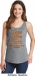 Ladies Leukemia Cancer Awareness Hope Love Cure Tank Top