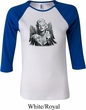 Ladies Marilyn Monroe Shirt Marilyn Butterfly Raglan Tee T-Shirt