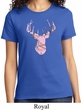 Ladies Mossy Oak Pink Camo Deer Shirt