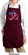 Ladies Patriotic Om Full Length Apron with Pockets