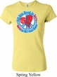 Ladies Peace Shirt All You Need is Love Crewneck Tee T-Shirt
