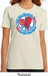Ladies Peace Shirt All You Need is Love Organic Tee T-Shirt