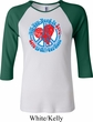 Ladies Peace Shirt All You Need is Love Raglan Tee T-Shirt