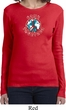 Ladies Peace Shirt Come Together Long Sleeve Tee T-Shirt