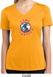 Ladies Peace Shirt Come Together Moisture Wicking V-neck Tee