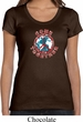 Ladies Peace Shirt Come Together Scoop Neck Tee T-Shirt