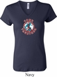 Ladies Peace Shirt Come Together V-neck Tee T-Shirt