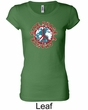 Ladies Peace Shirt Give Peace a Chance Longer Length Tee T-Shirt