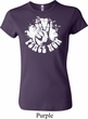 Ladies Peace Shirt Peace Now Crewneck Tee T-Shirt
