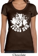 Ladies Peace Shirt Peace Now Scoop Neck Tee T-Shirt