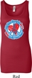 Ladies Peace Tanktop All You Need is Love Longer Length Tank Top