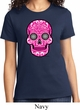 Ladies Pink Sugar Skull T-shirt