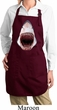 Ladies Shark Apron 3D Shark Full Length Apron with Pockets
