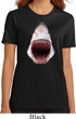 Ladies Shark Shirt 3D Shark Organic Tee T-Shirt