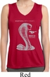 Ladies Shirt 50 Years Cobra Sleeveless Moisture Wicking Tee T-Shirt