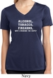 Ladies Shirt Alcohol Tobacco Firearms ATF Moisture Wicking V-neck Tee