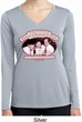 Ladies Shirt Attorneys at Law Dry Wicking Long Sleeve Tee