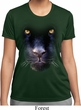Ladies Shirt Big Panther Face Moisture Wicking Tee T-Shirt
