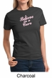 Ladies Shirt Breast Cancer Awareness Believe in a Cure Tee T-Shirt