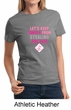 Ladies Shirt Breast Cancer Awareness Second 2nd Base Tee T-Shirt