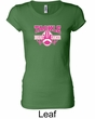 Ladies Shirt Breast Cancer Tackle Cancer Longer Length Tee T-Shirt