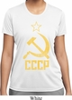 Ladies Shirt CCCP Distressed Moisture Wicking Tee T-Shirt