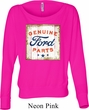 Ladies Shirt Distressed Genuine Ford Parts Off Shoulder Tee T-Shirt
