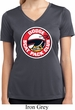 Ladies Shirt Dodge Scat Pack Club Moisture Wicking V-neck Tee T-Shirt