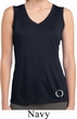 Ladies Shirt Enso Bottom Print Sleeveless Moisture Wicking Tee T-Shirt