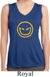 Ladies Shirt Evil Smiley Face Sleeveless Moisture Wicking Tee T-Shirt