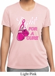 Ladies Shirt Fight For a Cure Moisture Wicking Tee T-Shirt