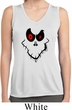 Ladies Shirt Ghost Face Sleeveless Moisture Wicking Tee T-Shirt