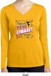 Ladies Shirt Miss Gymnast To You Dry Wicking Long Sleeve Tee T-Shirt