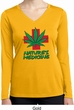 Ladies Shirt Natures Medicine Dry Wicking Long Sleeve Tee